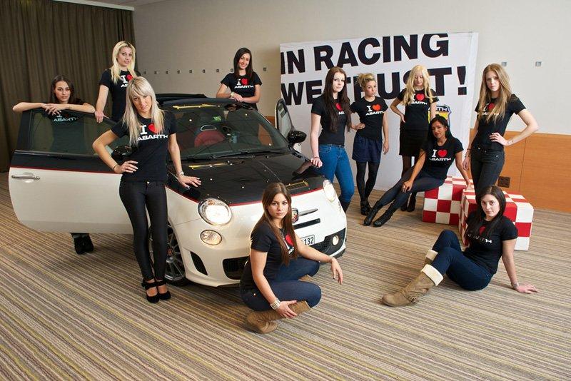Les 15 finalistes du casting Abarth Suisse 2012