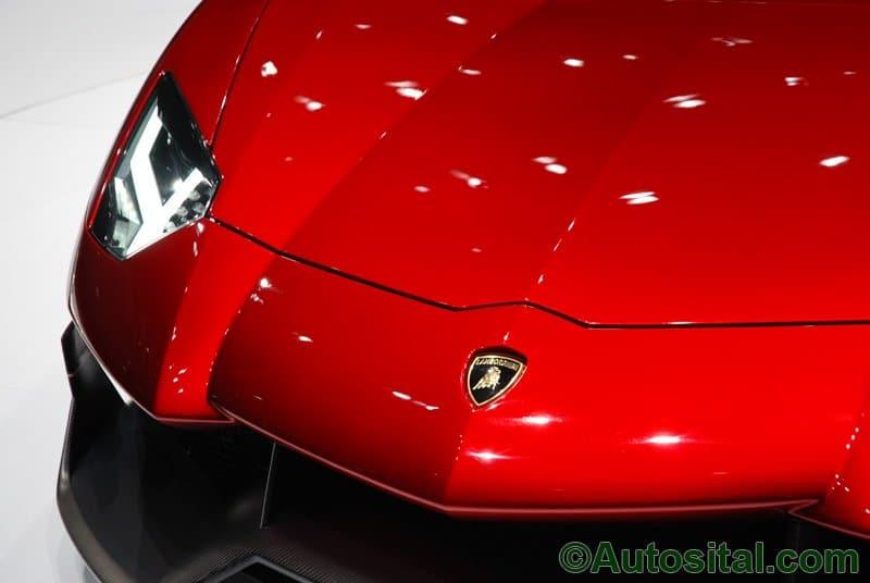 Salon de Genève 2012 - Lamborghini Aventador J