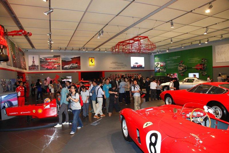 Succès pour l'exposition Mito Ferrari à Shangaï