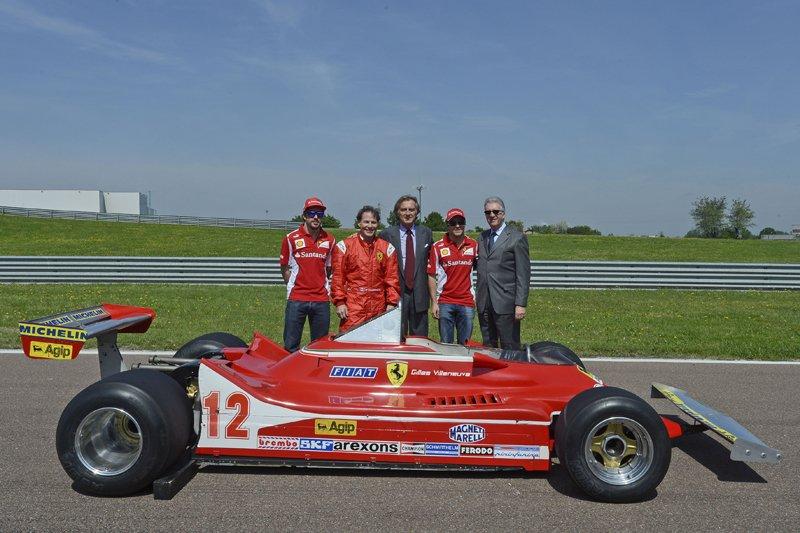 Jacques Villeneuve au volant de la 312 T4 pour les trente ans de la disparition de son père Gilles