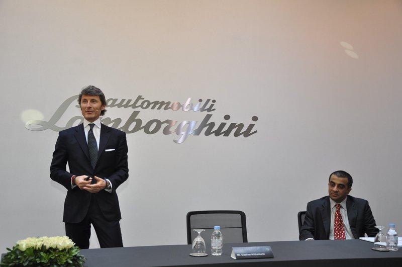 Inauguration de Lamborghini Mumbai, Inde