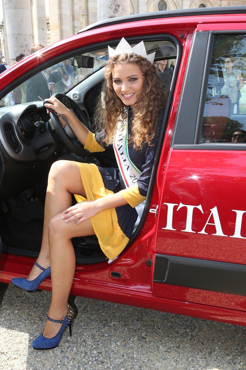 Nouvelle Fiat Panda, une histoire de Miss