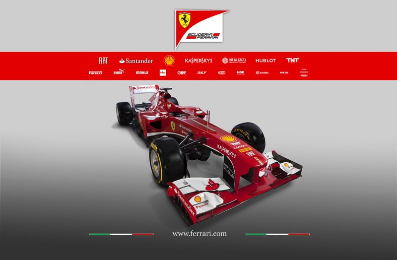 Ferrari présente sa F138