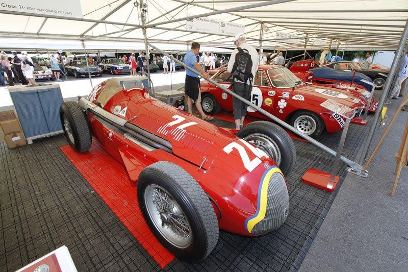 Alfa Romeo 159 à Goodwood