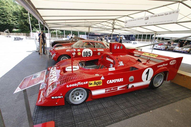 Alfa Romeo 33 à Goodwood 2013