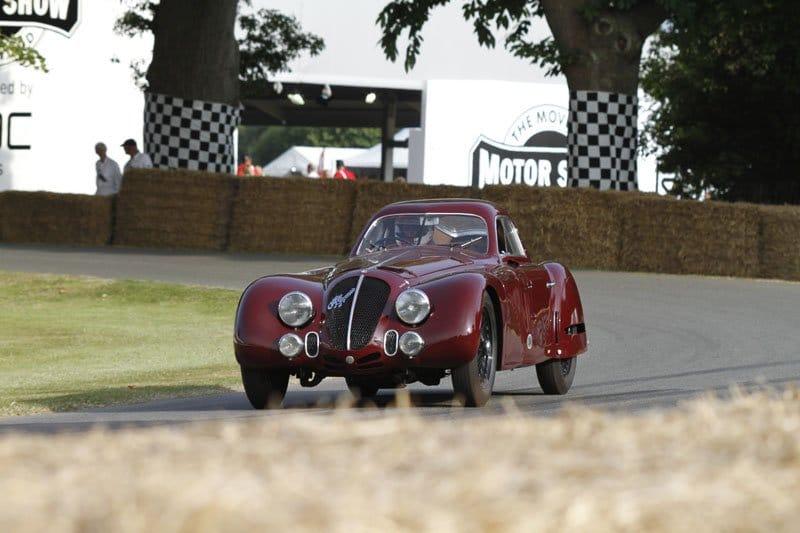 Alfa Romeo 8C à Goodwood 2013