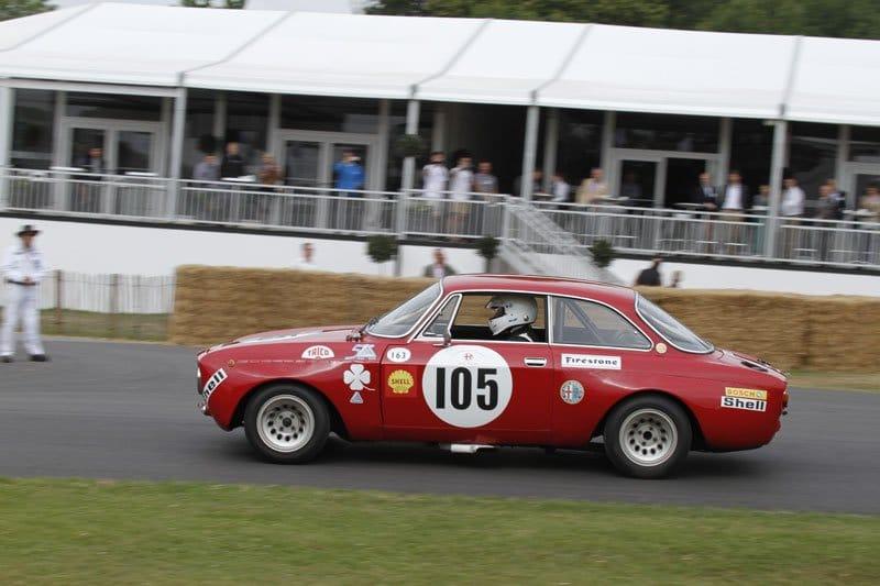 Alfa Romeo GTA à Goodwood 2013
