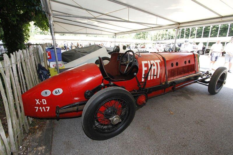 Alfa Romeo P2 à Goodwood