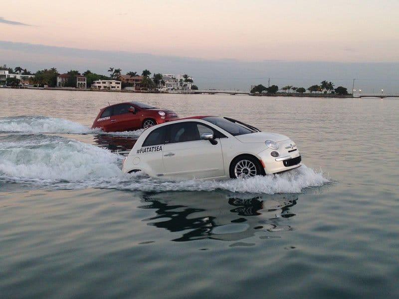 La Fiat 500 s'offre une divine croisière aux Etats-Unis
