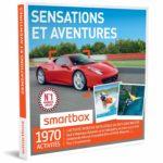 SMARTBOX – Coffret Cadeau – SENSATIONS ET AVENTURES – 1820 activités : conduite de GT (FERRARI, LAMBORGHINI, PORSCHE), vol en ULM, rafting