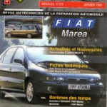 REVUE TECHNIQUE L'EXPERT AUTOMOBILE N° 370 FIAT MAREA / ESSENCE 1.6 16V / 1.8 16V / 2.0 20V / DIESEL 1.9 TD 75 / 1.9 TD 100 / 2.4 TD 125 / BERLINE ET BREAK