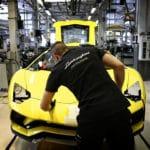 Coronavirus, les mesures des constructeurs italiens - Usine Lamborghini de Sant'Agata Bolognese