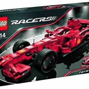 LEGO - 8157 - Jeu de construction - Racers - Ferrari F1 1:9