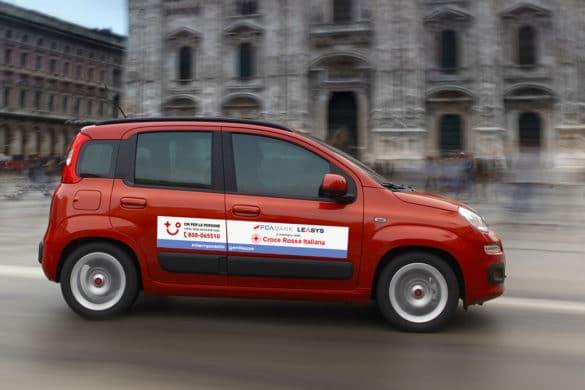 FCA Bank et Leasys mettent 300 véhicules à la disposition de la Croix Rouge italienne