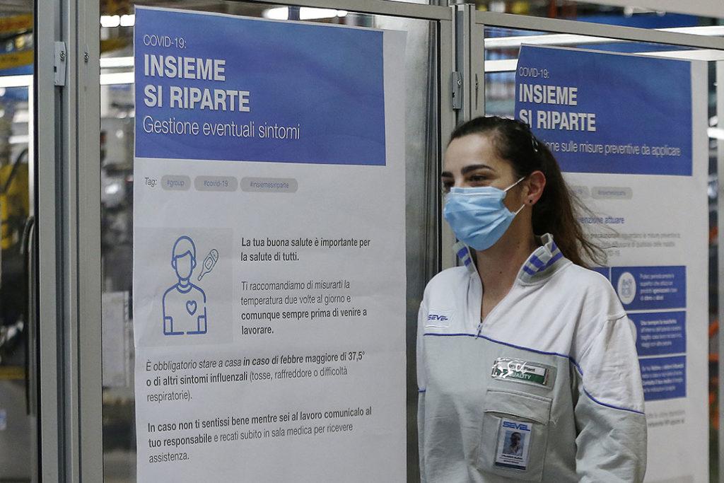 Réouverture de l'usine Fiat de Sevel - Coronavirus