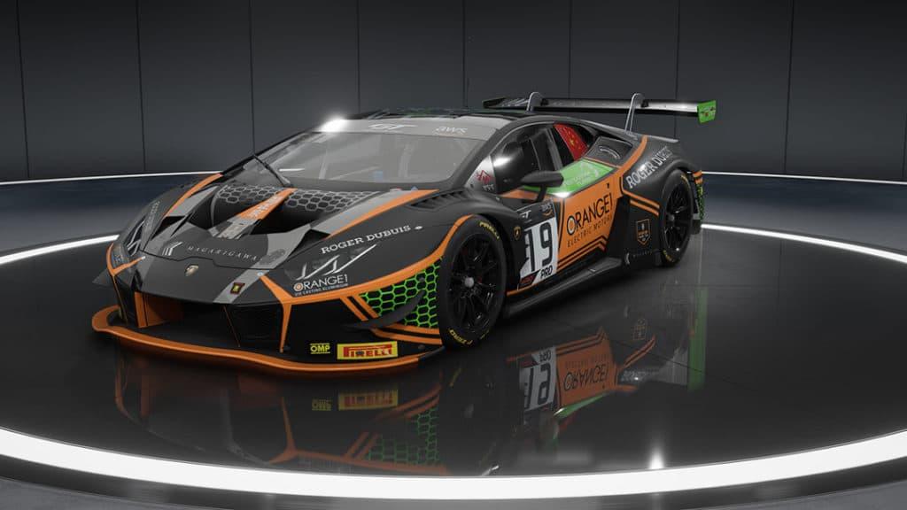 SRO E-Sport GT Series - Huracán GT3 EVO