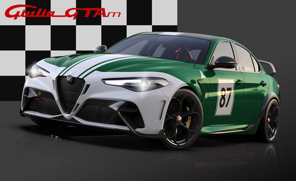 Livrées personnalisée pour Alfa Romeo Giulia GTA et GTAm