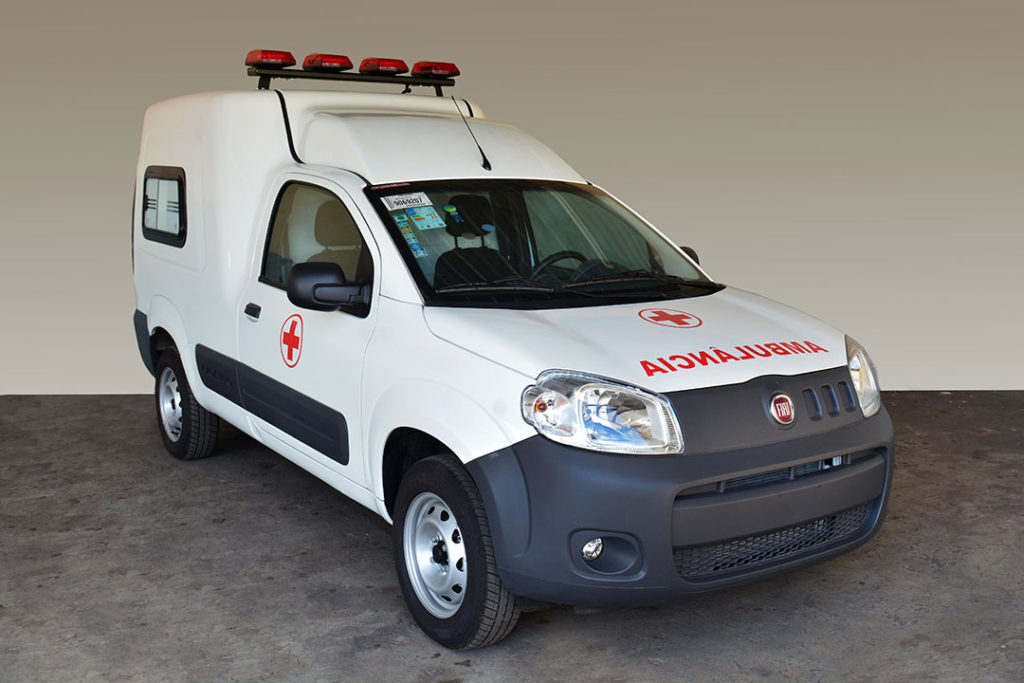 Fiat Fiorino ambulance (Brésil 2020)
