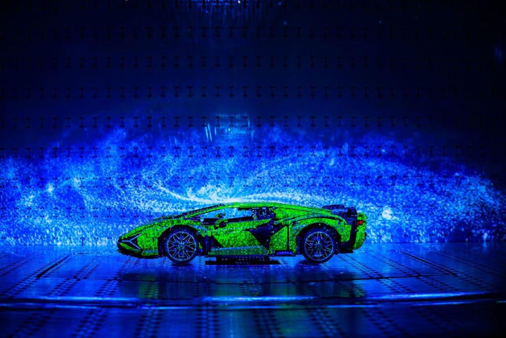 Lancement LEGO Technic Lamborghini Sián FKP 37 - Première mondiale