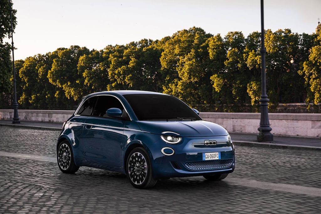 Fiat 500 La Prima berline (2020)