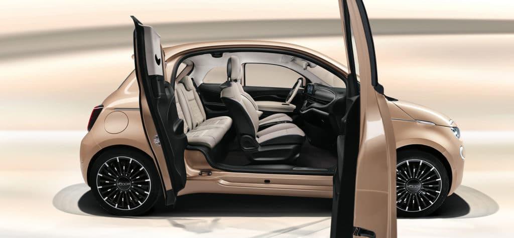 Fiat 500 électrique 3+1 portes (2020)