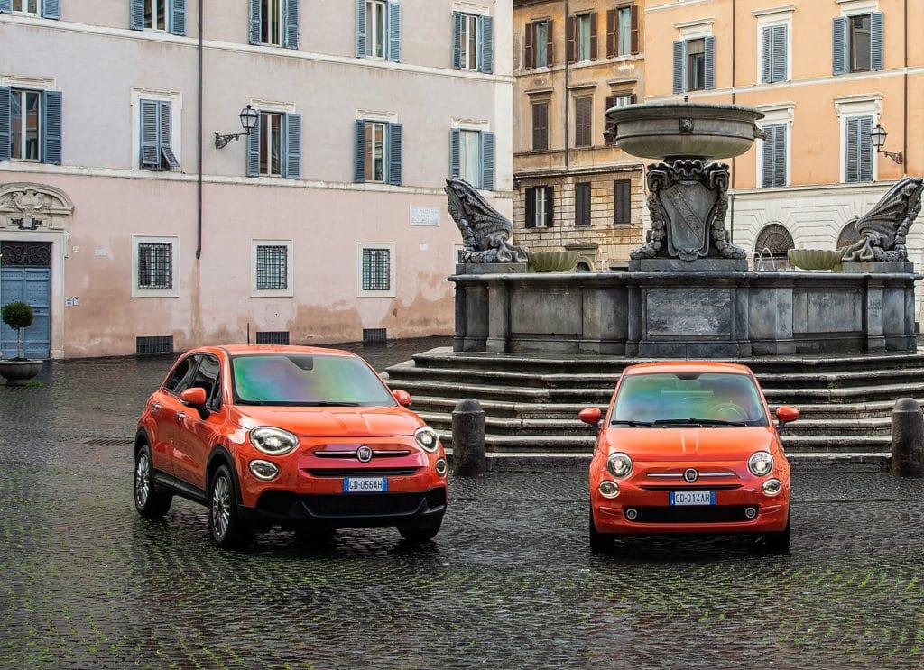Fiat 500 et 500X 2021