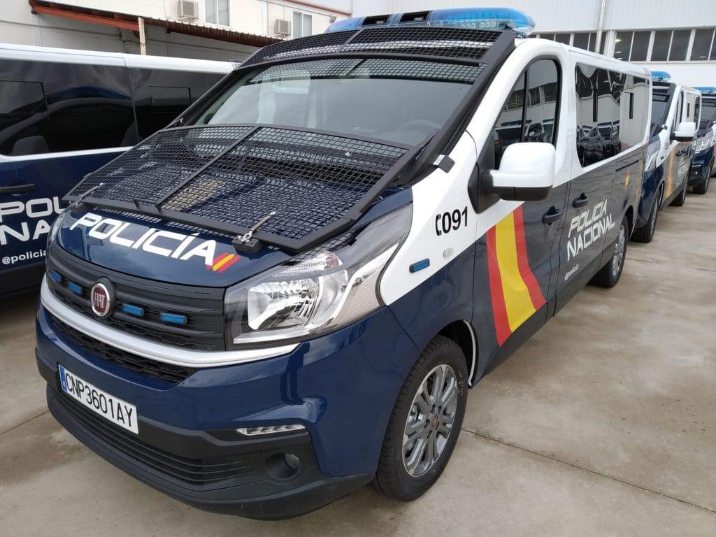 De nouveaux Fiat Talento pour la police espagnole