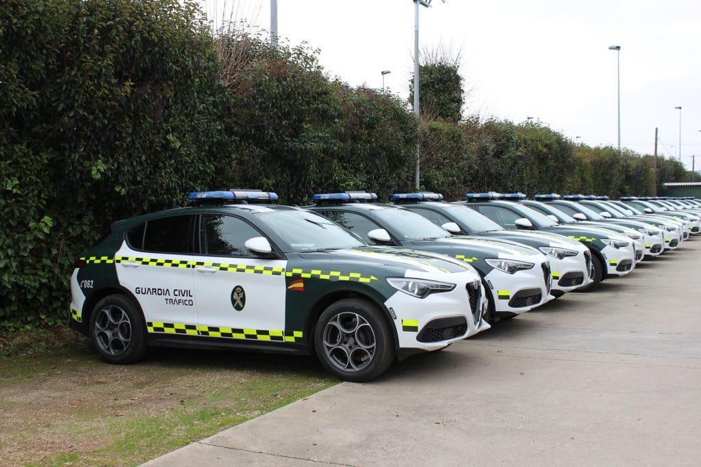 De nouveaux Alfa Romeo Stelvio pour la Guardia Civil espagnole