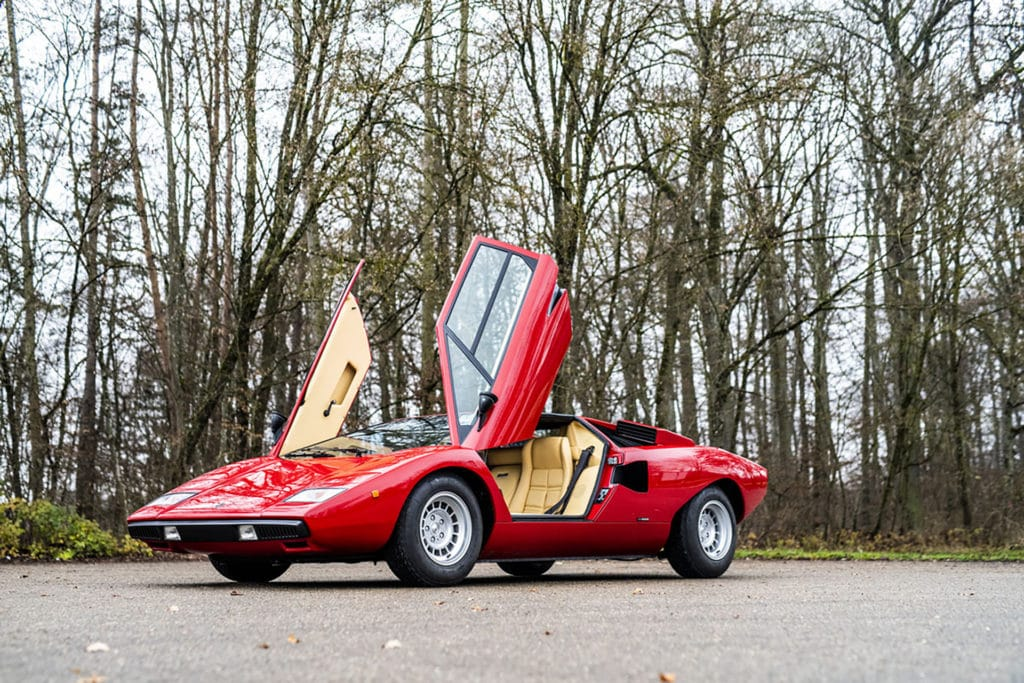 Lamborghini Countach LP400 - RM-Sotheby's Paris 2021